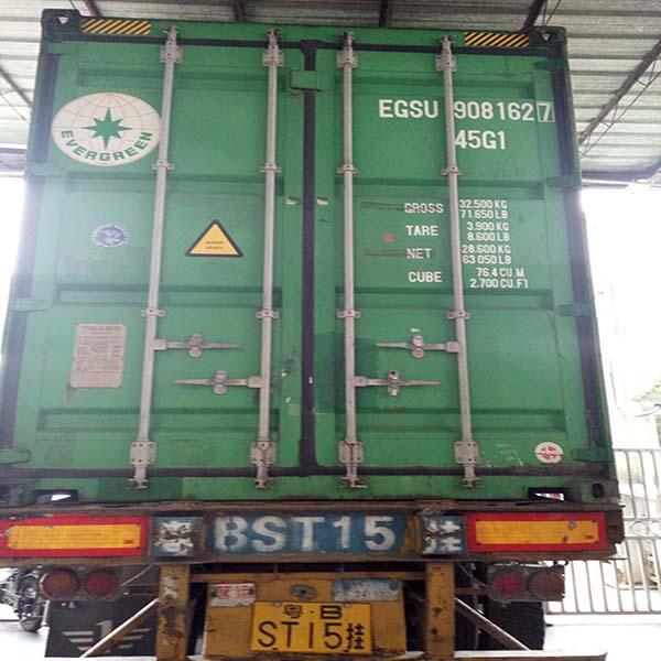 Ocean Shipment From Foshan to Pasir Gudang