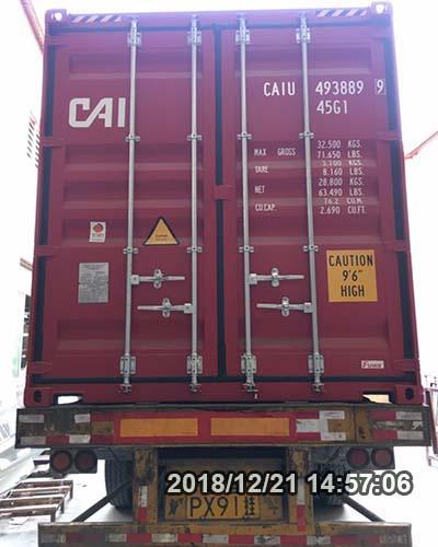 Ocean Shipment From Shenzhen to Jebel Ali, UAE