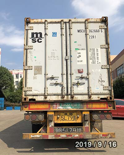 HYDRATION OCEAN FREIGHT FROM NINGBO TO RIGA