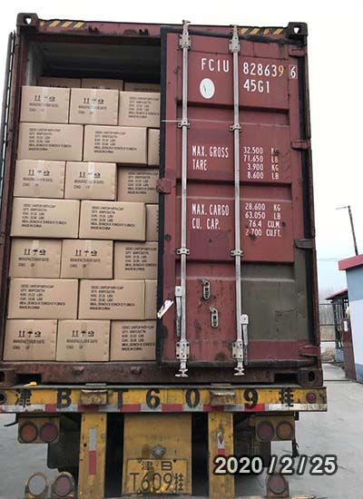 TIN PLATE CAN OCEAN FREIGHT FROM XINGANG TO UAE